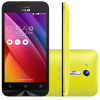 Smartphone Asus Zenfone GO ZB452KG-1E013BR Amarelo, Dual Chip, 8gb, Tela de 4,5-,  Android 5.1